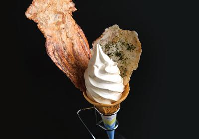 ゲソ煎ソフトクリーム